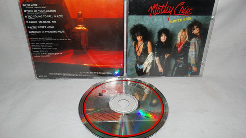 motley crue - raws tracks (elektra japan edition)