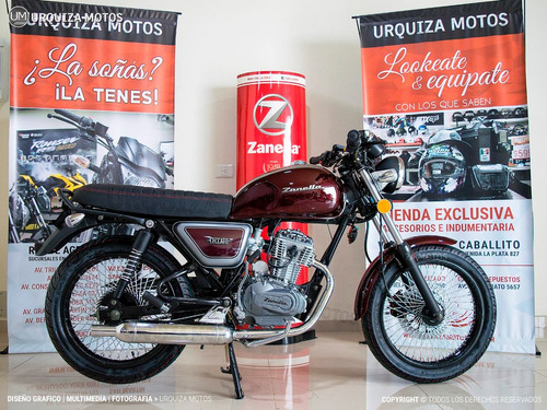 moto 0km cafe racer zanella ceccato 150 r 150r urquiza motos