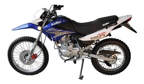 moto 0km cross enduro miracle 150 keller urquiza motos