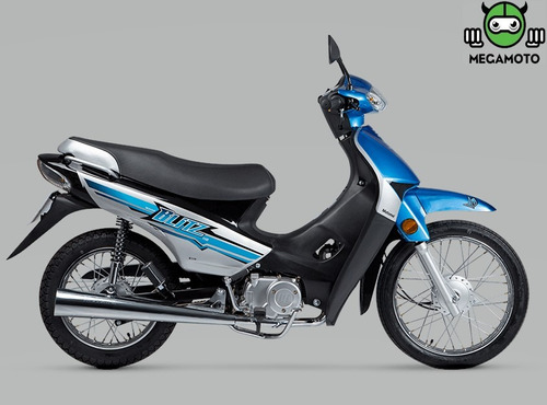 moto 110 motomel blitz 110 v8 llevala en el acto! efectivo