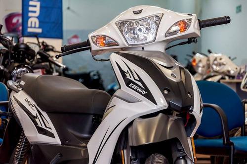 moto 125 cc target 125   keeway contado efectivo