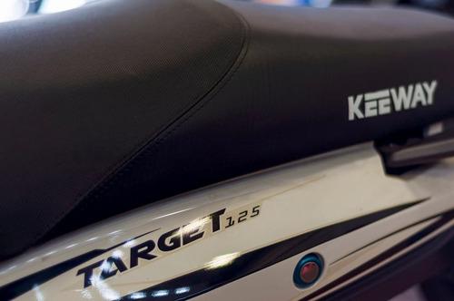 moto 125 target 125 cc  keeway tipo crypton