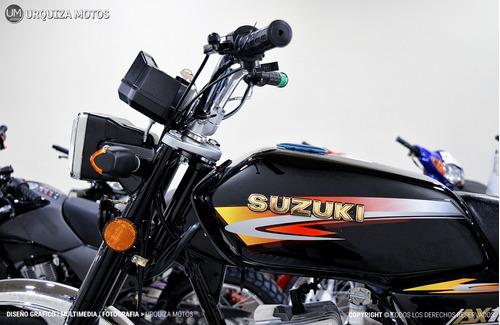 moto 2 tiempos suzuki ax 100 estilo cafe racer 0km