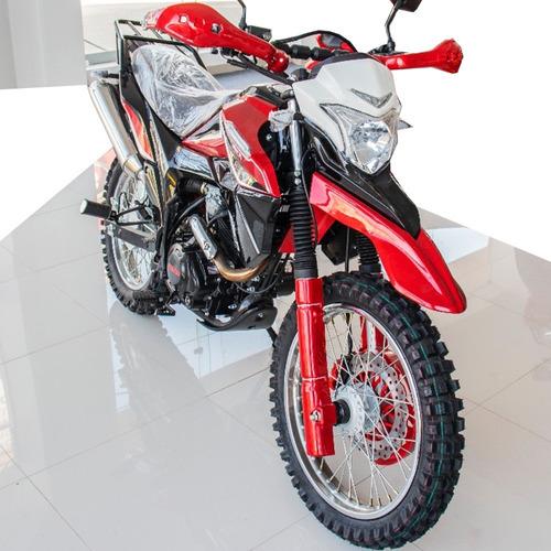 moto 200cc doble suspensión motocicleta delivery reparto