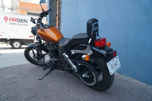 moto 2017 suzuki boulevard s40 650cc unico dueño