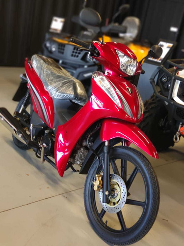 moto 50 cilindradas, semi-automática