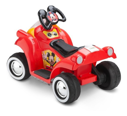 moto a bateria quad disney mickey mouse