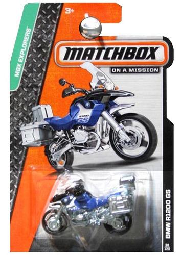 moto a escala matchbox bmw r1200 gs