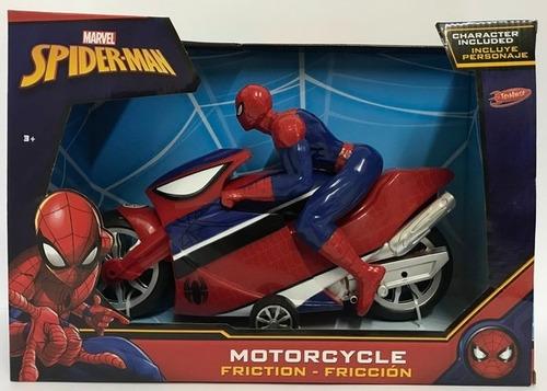 moto a fricción spiderman hombre araña 25cm mejor precio!!