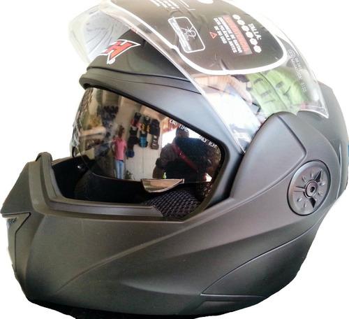 moto abatible casco