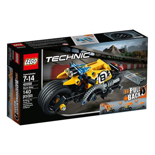 moto acrobática lego - 42058