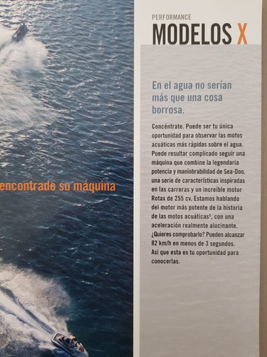 moto acuatica sea-doo  rxt-x 255
