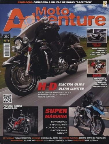 moto adventure n°151 harley electra glide ultra limited bmw