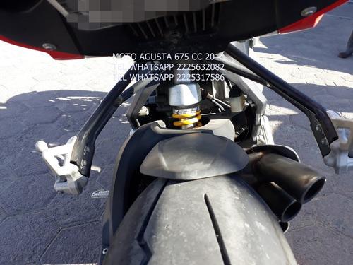 moto agusta 2013 cil 675