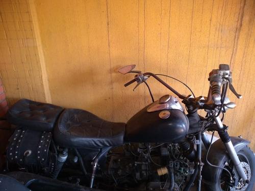 moto amazonas ano 1984 com sidecar