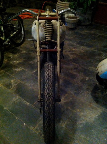 moto antiga alemã 1937 standard