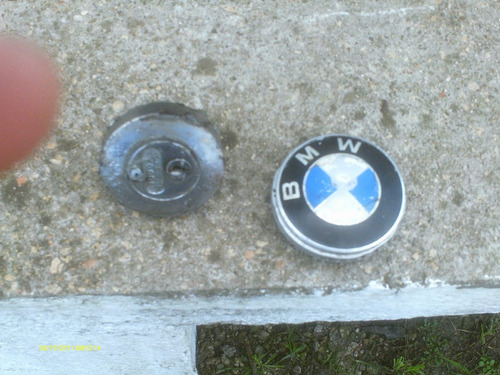moto antigua bmw tapon