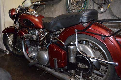 moto ariel 1000cc, año 1938