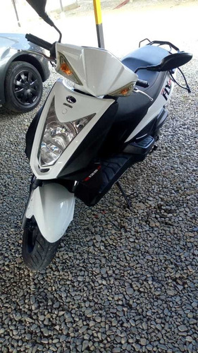 moto auteco fly 125 blanco infinito 2017