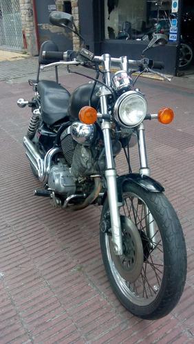 moto auto yamaha virago 535