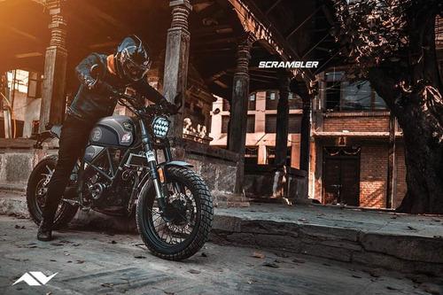 moto axxo scrambler 250cc clásica año 2021
