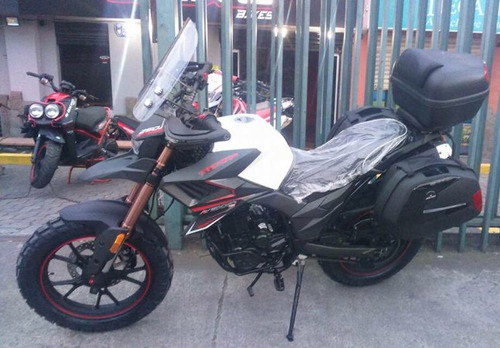 moto axxo tracker 6c año 2020 250cc con maletas