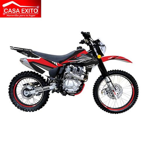 moto axxo trx200 200cc año 2020 color ne/ ro/ bl/ az