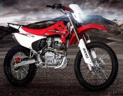 moto axxo trz250 año 2020 color blanco, negro, rojo