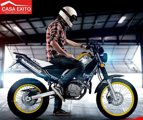 moto axxo tx 200 año 2017 200cc