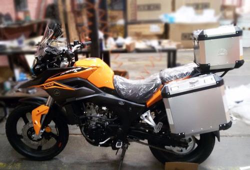 moto axxo xtour 250 sin maletas
