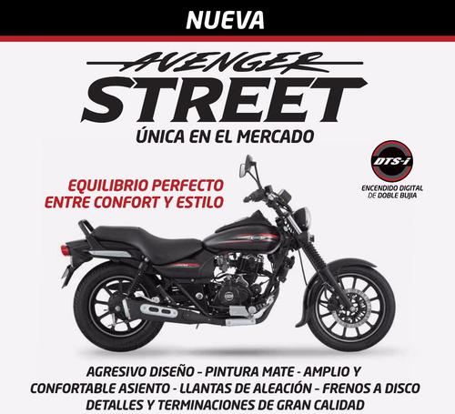 moto bajaj avenger 220 street dni 0km nuevo modelo 2016
