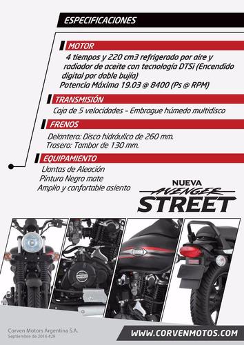 moto bajaj avenger street