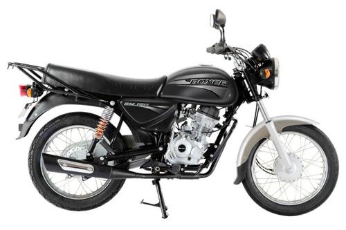 moto bajaj boxer 150 base nueva 0km negra entrega ya - rvm