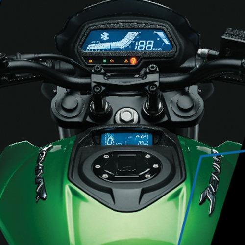 moto bajaj dominar new 400 d 0km 2020 verde