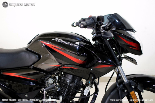 moto bajaj pulsar rouser 135 0km 36 cuotas urquiza motos