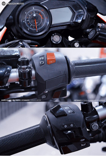 moto bajaj pulsar rouser 135 street 0km urquiza motos