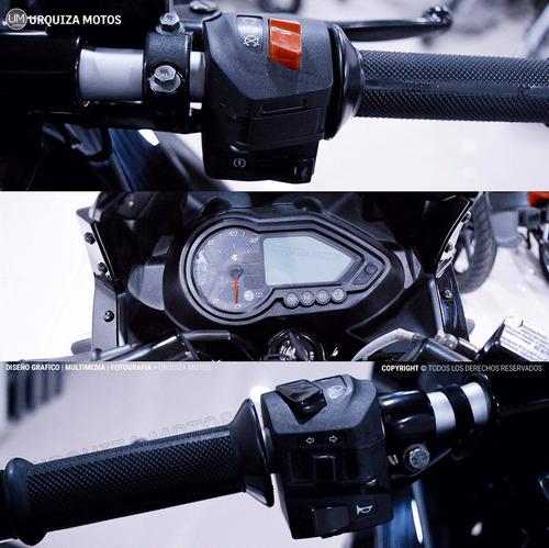 moto bajaj pulsar rouser 220 f street 0km urquiza motos