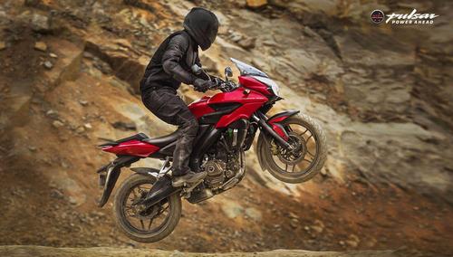 moto bajaj pulsar rouser as 200 rojo 0km urquiza motos