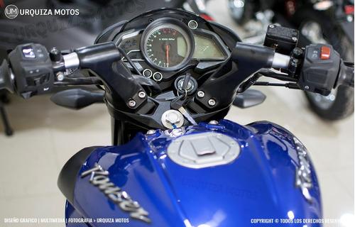 moto bajaj pulsar rouser ns 160 0km urquiza motos