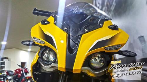 moto bajaj pulsar rouser rs 200 rs200 0km urquiza motos