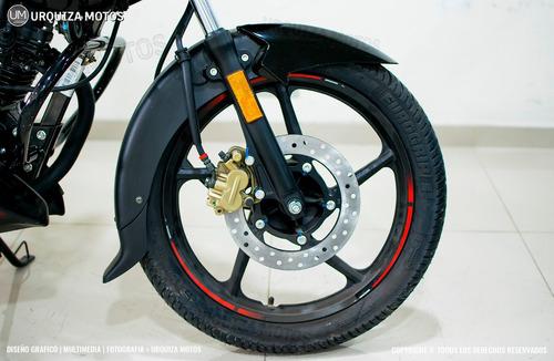 moto bajaj rouser 135 ls 0km promo contado urquiza motos
