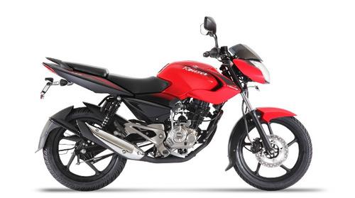 moto bajaj rouser 135 ls roja 0km urquiza motos