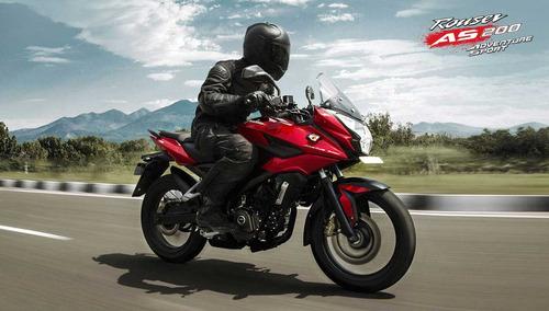 moto bajaj rouser as 200 as200 hasta 30 cuotas urquiza motos