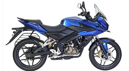 moto bajaj rouser as200 2018 0km azul entrega inmediata rvm