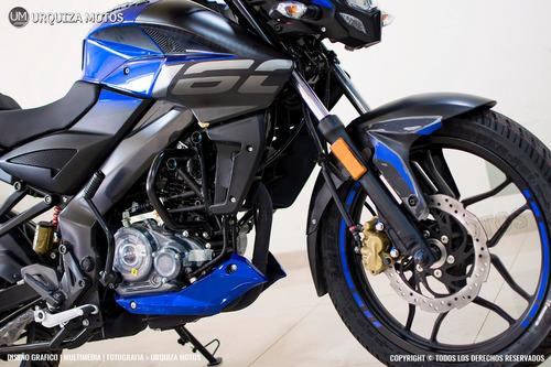 moto bajaj rouser ns 160 laser edged urquiza motos
