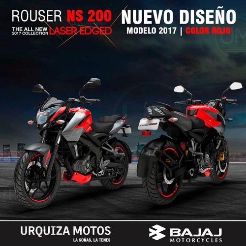 moto bajaj rouser ns 200 lider ventas 2018 200ns ns200 0km