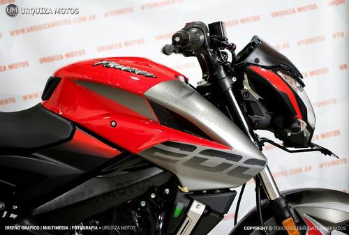 moto bajaj rouser ns 200 nuevo diseño 0km
