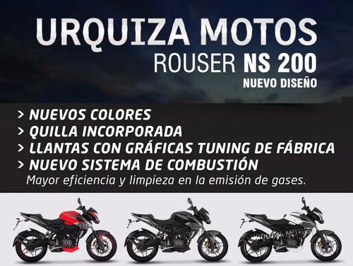 moto bajaj rouser ns 200 nuevo diseño 200ns ns200 0km