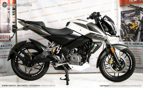 moto bajaj rouser ns 200 nuevo diseño naked urquiza motos