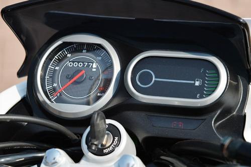 moto bajaj v15 150cc 0 km blanca entrega inmediata - rvm
